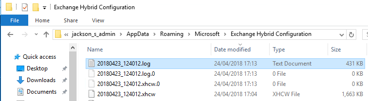 Troubleshooting the Office 365 Hybrid Configuration Wizard